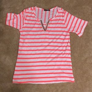Papermoon striped T shirt